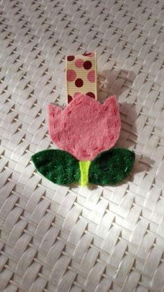 Portachiavi tulipano