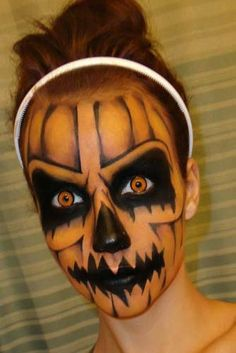 25 Best Cool and Scary Halloween Makeup Looks of 2013
