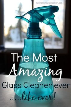 Think about how much money you will save just by buying a $0.97 bottle of Dawn dish liquid and using that to wash your windows and glass with. PLUS…leaves a nice fresh clean smell! Let'…