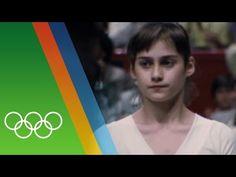 Nadia Comaneci's perfect 10   Countdown to 2016 - YouTube