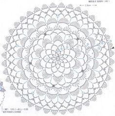 #ClippedOnIssuu de Crochet lace doily floral applique
