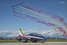 """""""Frecce Tricolori"""" 313° Gruppo Addestramento Acrobatico  Aermacchi MB-339"""