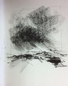 Charcoal and Art Graf block sketches Charcoal Sketch, Charcoal Drawings, Graphite Drawings, Contour Drawings, Art Drawings, Drawing Faces, Minimalist Drawing, Minimalist Art, Abstract Charcoal Art