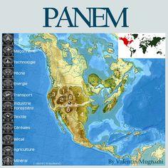 hunger games history of panem