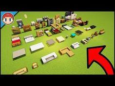 Video Minecraft, Minecraft Plans, Minecraft Survival, Amazing Minecraft, Minecraft Tutorial, Minecraft Blueprints, Cute Minecraft Houses, Minecraft Room, Minecraft House Designs