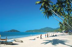 Goa, India. The beaches of Velsao, Cansaulim, Utorda, and Miramar are currently untouched by erosion and are absolute must-sees.