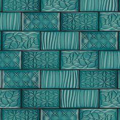 EliteTile Antiqua Sensations x Ceramic Subway Tile Turquoise Tile, Teal Tiles, Ceramic Subway Tile, Subway Tiles, Subway Tile Patterns, Wall Patterns, Glazing Techniques, Tile Projects, Stone Tiles