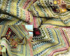 """2010 MAR - MINIS BONARD - Maxi carré grand-mère autour du montage des minis """"Bonnard"""""""