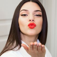 Kendall Jenner launches her own lipstick shade | Harper's Bazaar