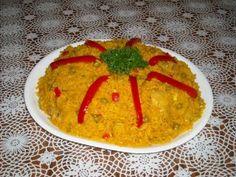 Cuban Arroz con Pollo a la chorrera (soupy arroz con pollo)