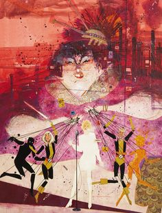 The New Mutants by Bill Sienkiewicz.