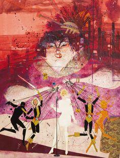 The New Mutants by Bill Sienkiewicz