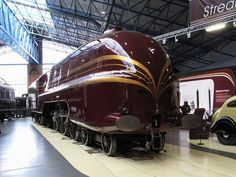 Duchess of Hamilton Art deco goodness and a rather fast steam engine