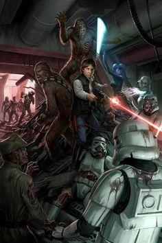 Star Wars/Zombies