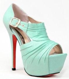 Qupid KOY-17 Platform Color Sole High Heel Stiletto Pleated Cut Out Peep Toe Sandal: Price: $39.00 [ http://www.phashionique.com/qupid-koy-17-platform-color-sole-high-heel-stiletto-pleated-cut-out-peep-toe-sandal-2/ ]