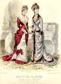 The bustle in women's fashion (+ Halloween bonus) | the Victorian era