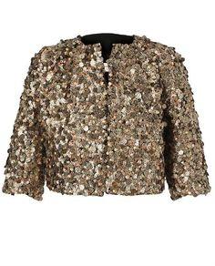 Belle Embellished Wool Jacket - Lyst
