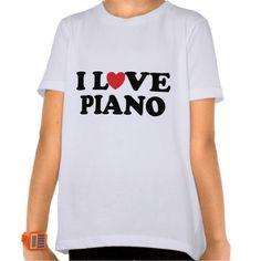 I Love Heart Piano Music Gifts T Shirt, Hoodie Sweatshirt