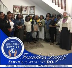 #ZPHIB97 #20MHoursOfService #MLKDay...Members of Zeta Phi Beta with other women from around the US, provide service at the Emirates Autism Center in Abu Dhabi. #ZPhib97 #20MHoursofService #MLKDay