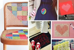DIY borduurideeën #diy #embroidery #hackyourhome