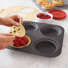 16 Baking Gifts for Brides ~ Chicago Metallic Mini Pie Set
