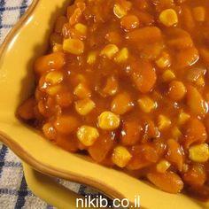 תבשיל שעועית ואורז / צילום : ניקי ב