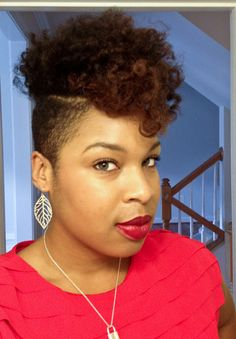 Natural hair mohawk - Google Search