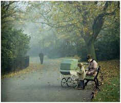 St Stephen's Green, 1967. Photo by Evelyn Hofer.