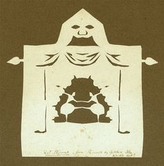 I love the stage-person theme. Paper cut by Hans Christian Andersen, Odense City Museums.  Source: Odense City Museums. The images may not be resold, used for advertisement, nor other commercial purposes.