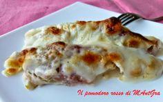 Il Pomodoro Rosso di MAntGra: Lattuga belga al forno con speck e besciamella