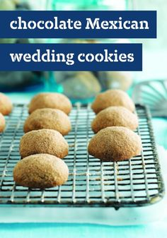 Chocolate Mexican Wedding Cookies — Your family will love the delicious chocolate version of the classic Mexican wedding cookie recipe.