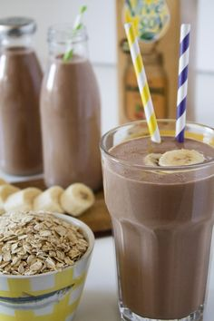Sweet Recipes, Snack Recipes, Cooking Recipes, Healthy Smoothies, Healthy Drinks, Smoothie Cacao, Yummy Drinks, Yummy Food, Low Calorie Recipes