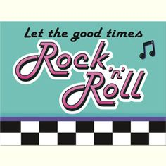rock around the clock Invitations | 12 50 s rock n roll items rock n roll 50s invitations 8pk