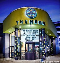 The Neon in Dayton, Ohio gift certificates for Brett and I