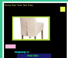 Dining Chair Cover Back Slips 134545 - The Best Image Search