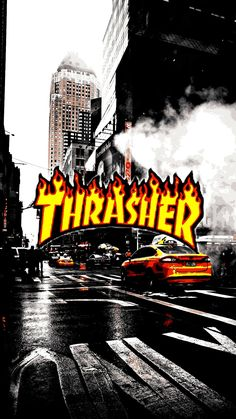 Thrasher Wallpapers Iphone Android Photography in 2019
