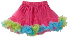 Mud Pie Baby-girls Infant Pettiskirt, Hot Pink/Blue/Green, 2T-5T Mud Pie. $20.82
