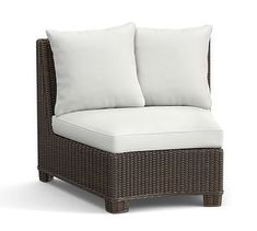High Quality Replacement Torrey Rounded Sectional Chair Cushion. Outdoor Lounge  FurnitureSectional ...