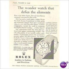 vintage rolex ad