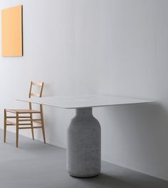 Bottle Table by Barber & Osgerby for Cappellini