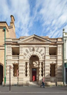 Australian studio Welsh + Major has converted a 19th century police station in Sydney into a restaurant