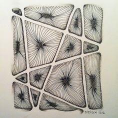 Vortex. Monotangle drawn by Didisch.