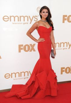 Nina Dobrev: one of the most stunning and statuesque dresses/actresses in a long time...just beautiful :)