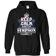 SIMPSON-Special For Christmas - #sweater tejidos #wool sweater. CHECK PRICE => https://www.sunfrog.com/Names/SIMPSON-Special-For-Christmas-dbtni-Black-5165720-Hoodie.html?68278