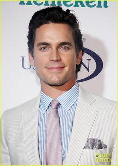 Celeb Diary: Matt Bomer @ 2013 U.S. Open Kick-Off Party