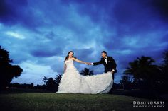 Kelly and Louis #TiedTheKnot at the #Deer Creek Country Club in #Florida #Photos by #DominoArts #Photography (www.DominoArts.com)