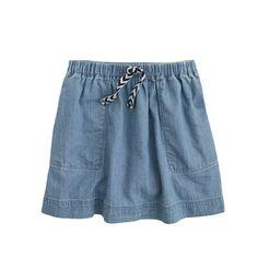 J.Crew - Girls' chambray skirt