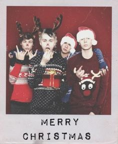 Wishing you a very merry Christmas. ~5 Seconds of Summer