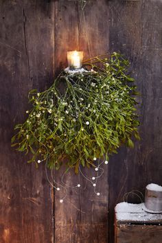 Der Advent steht vor der Tür - Und der Winter bietet Reizvolles fürs Auge. Wir zeigen hier kreative Beispiele, wie Naturmaterialien Ihr Heim verschönern können