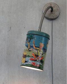 Boîte ancienne recyclée en applique